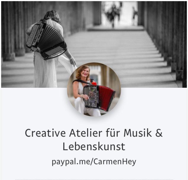 Carmen Hey. Paypal Me